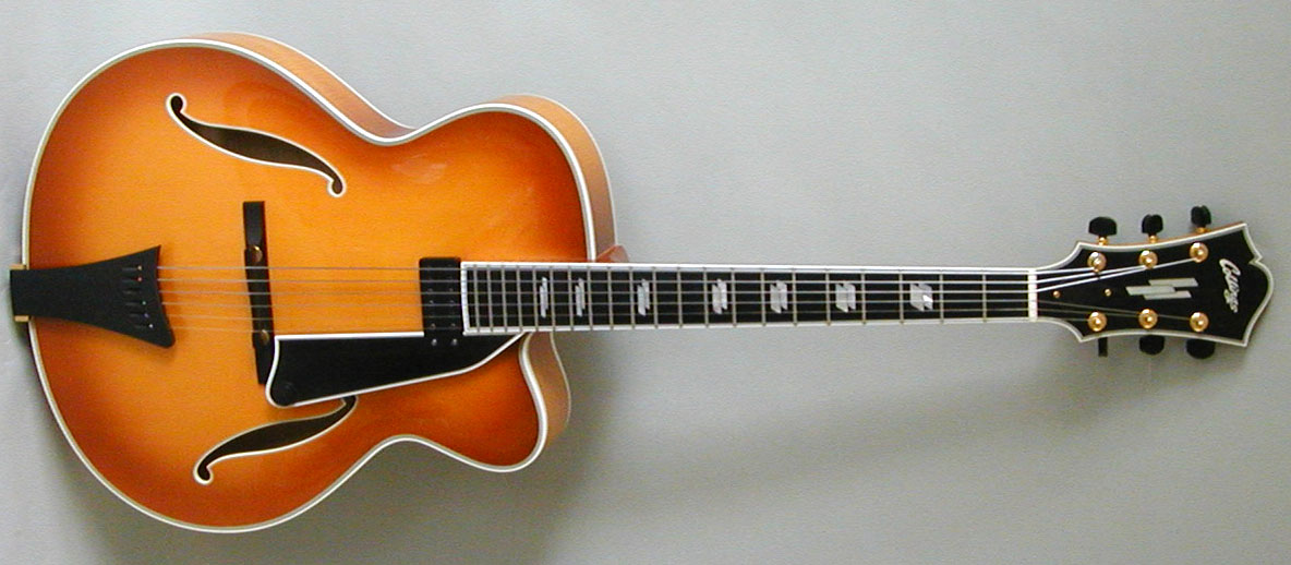 collings 17 inch archtop guitar for sale. Black Bedroom Furniture Sets. Home Design Ideas